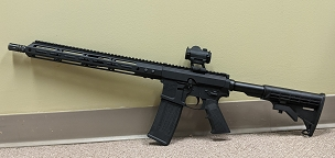 Bear Creek Arsenal .223 Wylde Semi Automatic Side Charging Rifle Combo w/AT3 RD-50 Sight