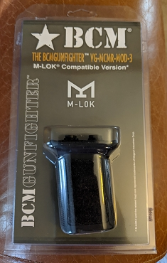 BCMGUNFIGHTER™ Vertical Grip Mod 3 (M-LOK® Compatible*) - Black