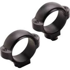 Burris Standard Rings, 30mm, HIGH, black