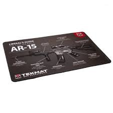 TekMat Liberal's Guide to the AR-15 Cleaning Mat