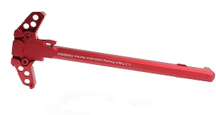 United Defense Ambidextrous AR15 Charging Handle-Red