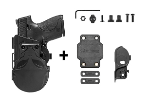Alien Gear S&W M&P Shield 9mm ShapeShift OWB Paddle Holster