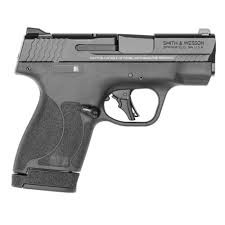 Smith & Wesson M&P 9 Shield 2.0 Plus Semi-Auto Pistol w/Thumb Safety